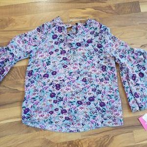 BNWT sage floral top XL